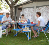 Camping mit Familie